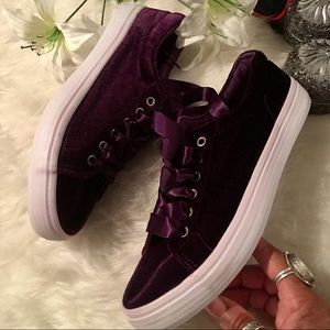 Shoes - Purple Reigns Sneakers